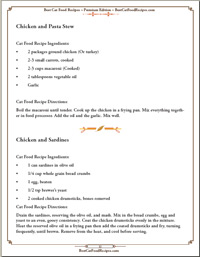 sample recipes page 12